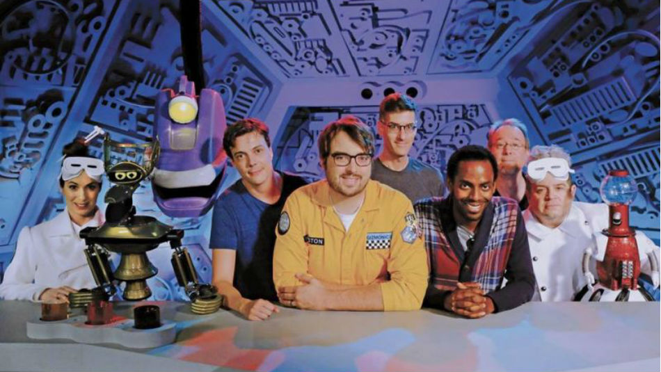 Here's Your First Look At The New 'Mystery Science Theater 3000' Cast