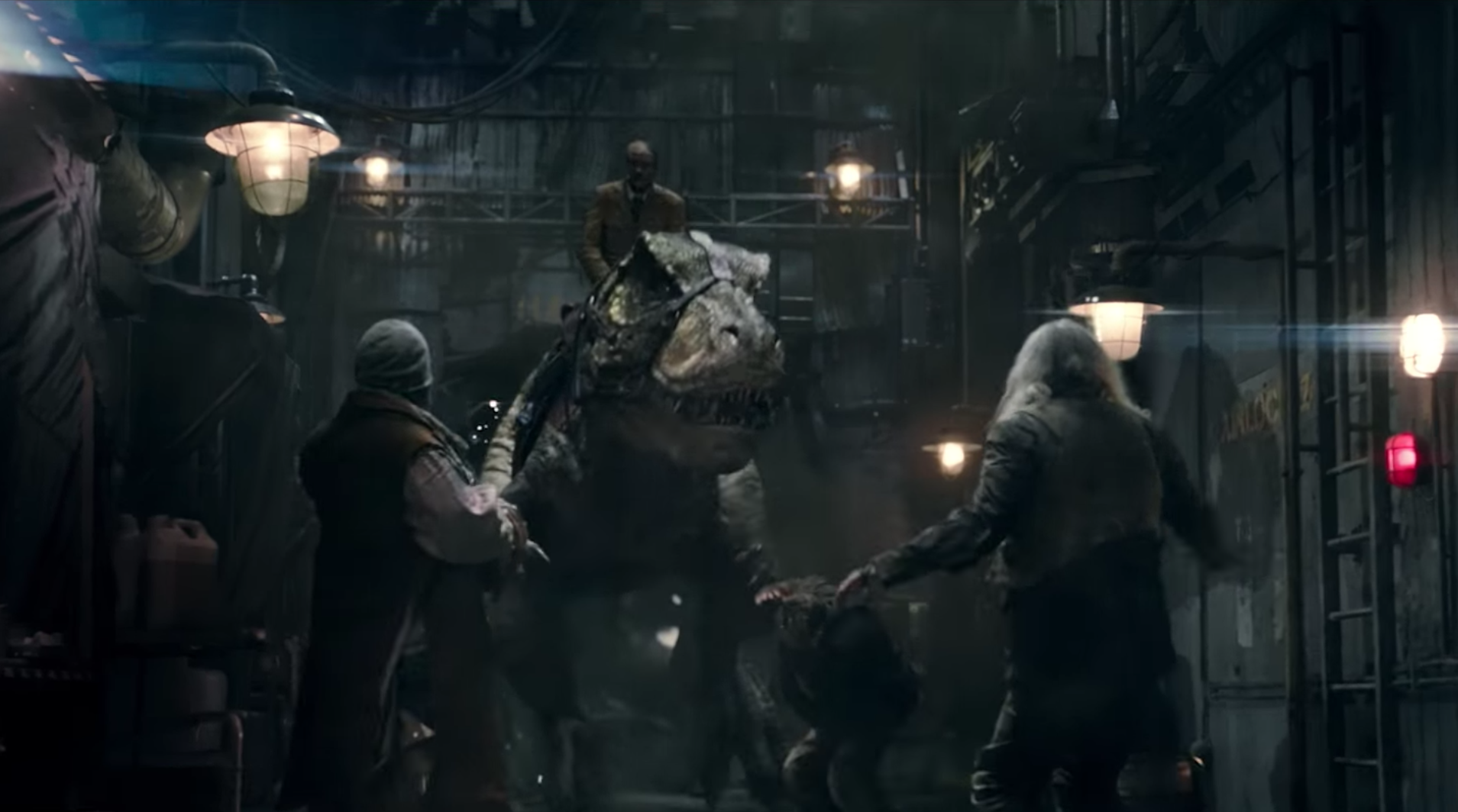 1493ea2594e Space Nazis Ride Dinosaurs Into Battle in the Trailer for Iron Sky  The Coming  Race