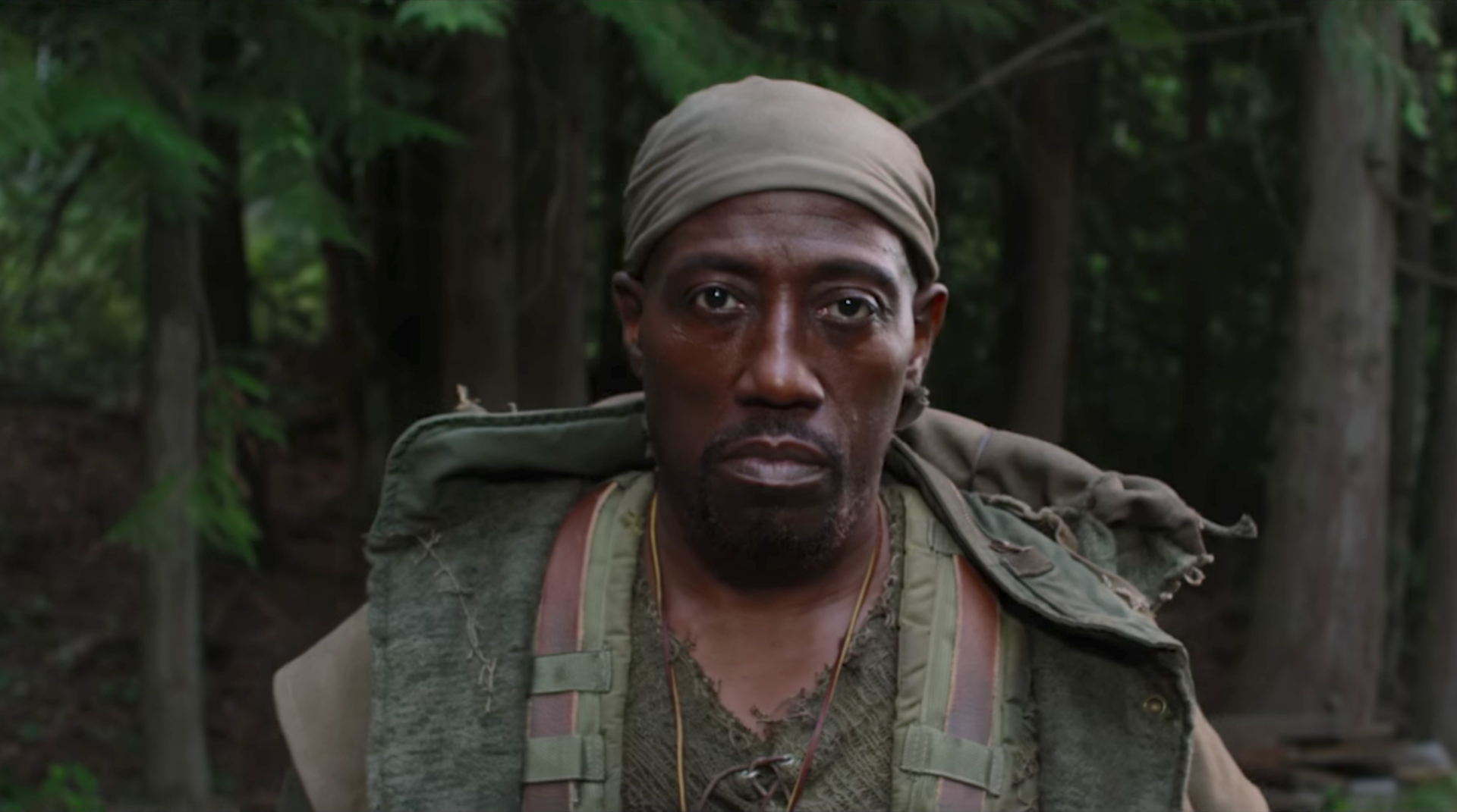 Watch Wesley Snipes Battle Alien Invaders in the First Trailer for The Recall