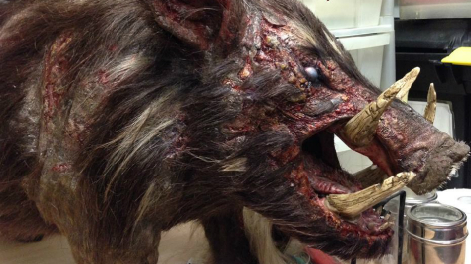 first boar teaser shows off murderous giant pig comet tv sci fi