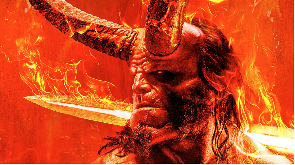 David Harbour Is Terrifying in First 'Hellboy' Poster