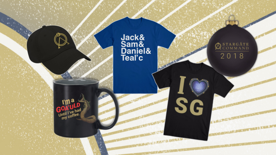 New Stargate Merch Is Here in Time for the Holidays