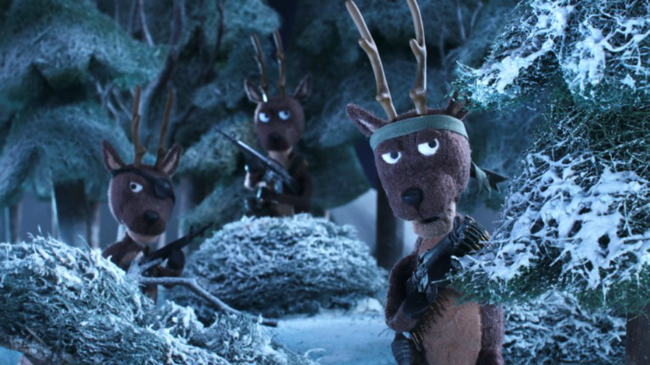 It's Predator vs Santa's Reindeer in a New Stop Motion Animated Holiday Special