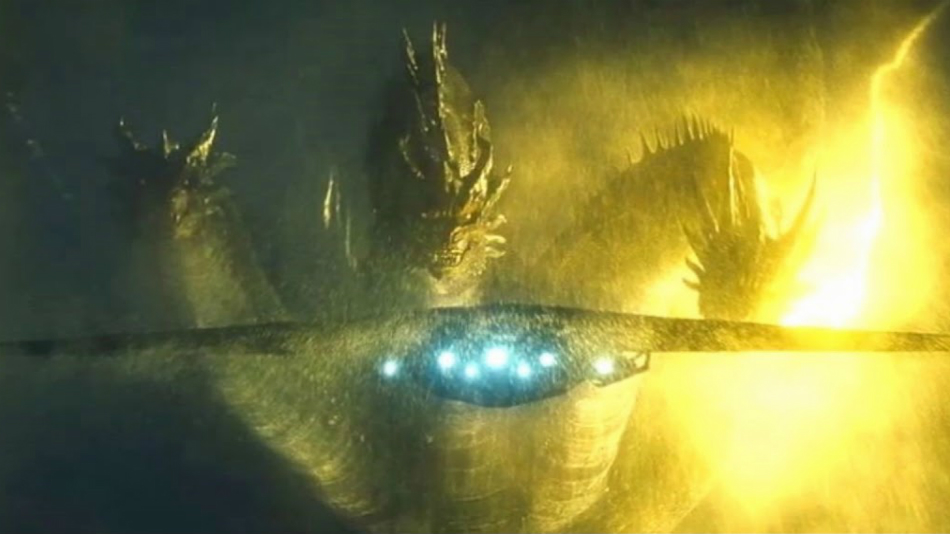 New 'King of the Monsters' TV Spot Shows Ghidorah, Rodan, & Godzilla in Action
