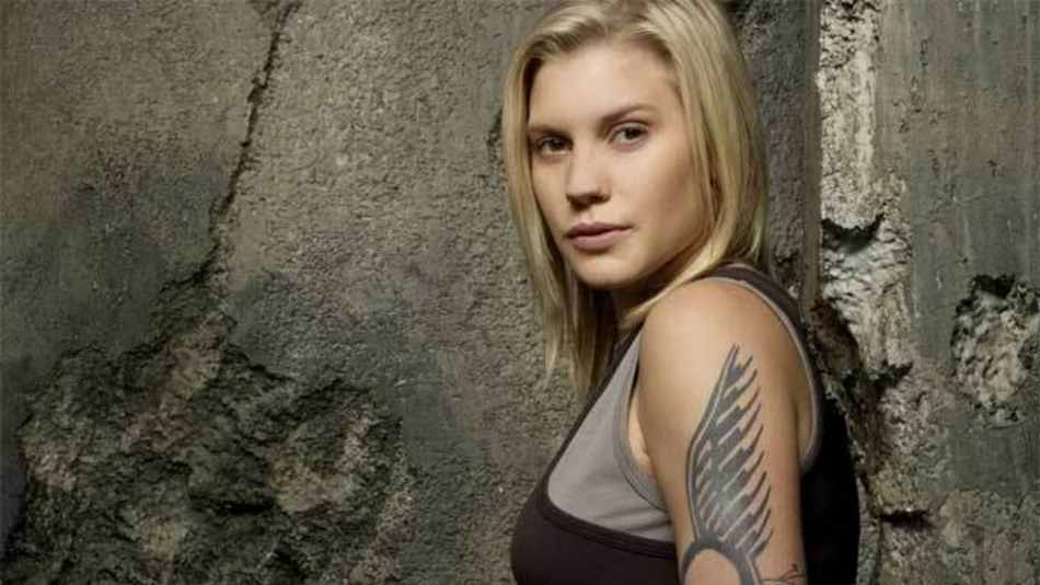 'BSG's Katee Sackhoff Returns to Space in New Series Trailer
